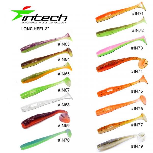 На фото Приманка Intech Long Heel 3 (8 шт)
