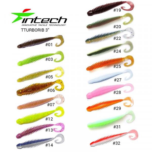 На фото Приманка Intech Turborib 3(7 шт)