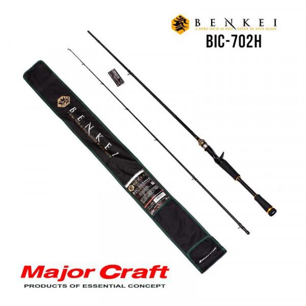На фото Удилище Major Craft Benkei baitcast BIC-702H