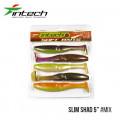 На фото Приманка Intech Slim Shad 5 (5 шт)