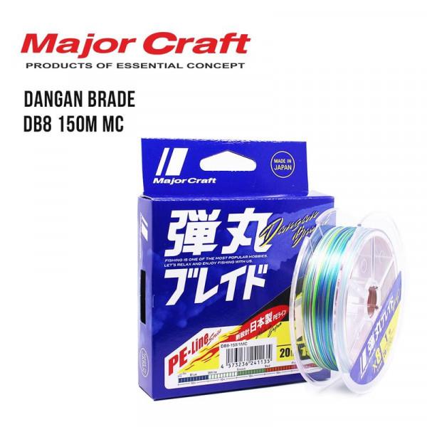 На фото Шнур Major Craft Dangan Brade DB8 150m MC
