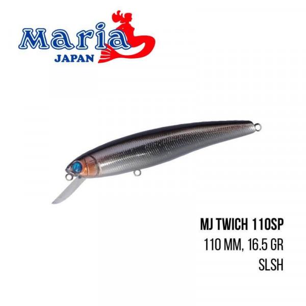 На фото Воблер Maria MJ Twich 110SP (110mm 16.5g)