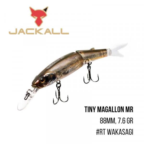 На фото Воблер Jackall Tiny Magallon MR (88mm, 7.6 gr)