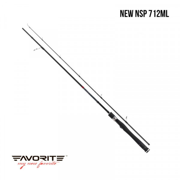 На фото Удилище Favorite New Spirit New NSP 712ML
