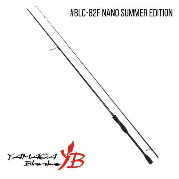 На фото Удилище Yamaga Blanks Blue Current BLC-82F Nano Summer Edition