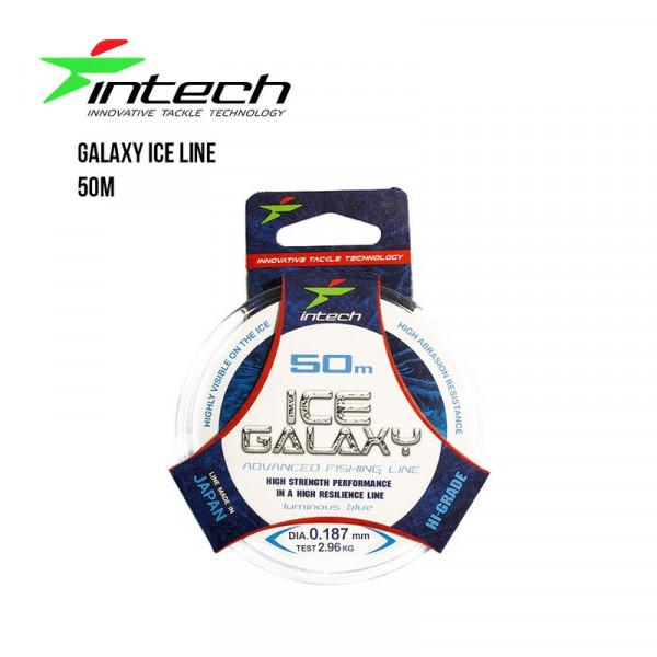 На фото Леска Intech Galaxy Ice Line 50m