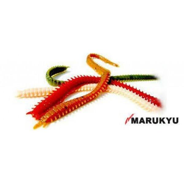 На фото Черви Marukyu  Power Isome X-Large  10 см, 8 шт