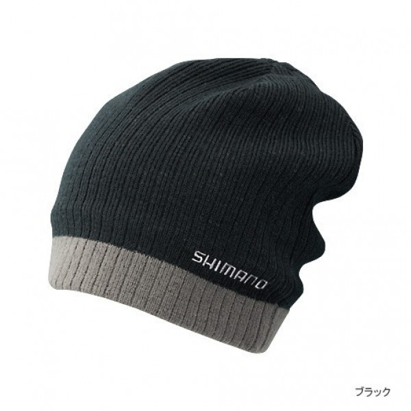 На фото Шапка вязаная Shimano CA-064L, black