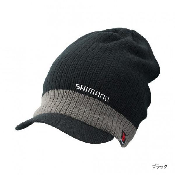 На фото Шапка вязаная Shimano CA-065L, black