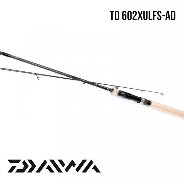 На фото Удилище Daiwa TD 602XULFS-AD 1.83  0,5-6gr