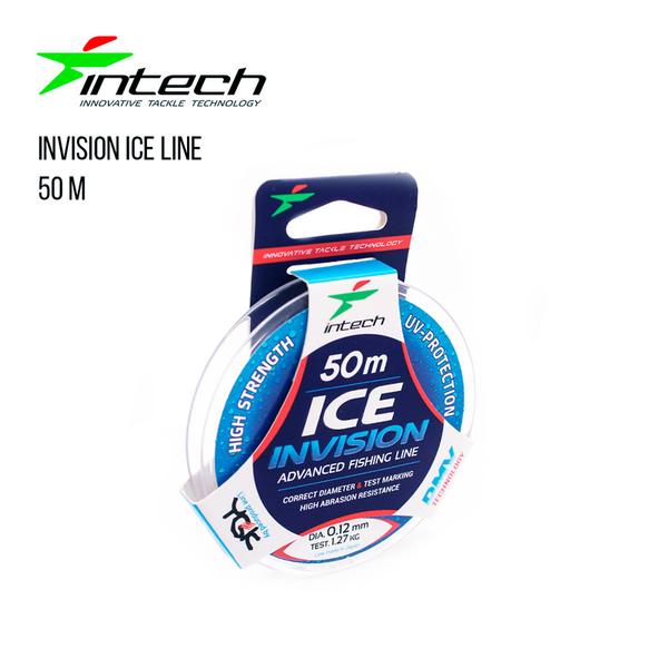 На фото Леска Intech Invision Ice Line 50m