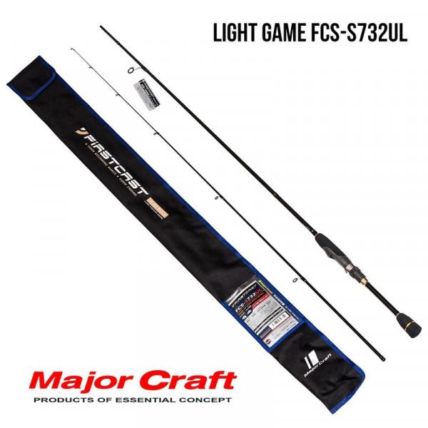 На фото Удилище Major Craft FirstCast Mebaru FCS-S732UL