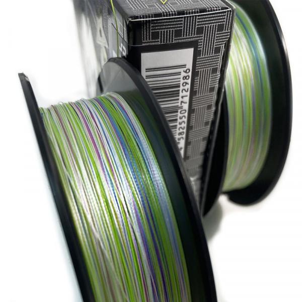 На фото Шнур плетеный YGK X-Braid Upgrade Pentagram X8 150m